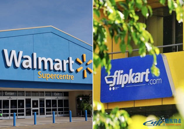 沃尔玛或120亿美元收购印度电商Flipkart多数股份