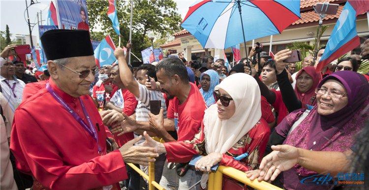 马来西亚电商流量马来西亚专线物流在大选期间出现大幅下滑